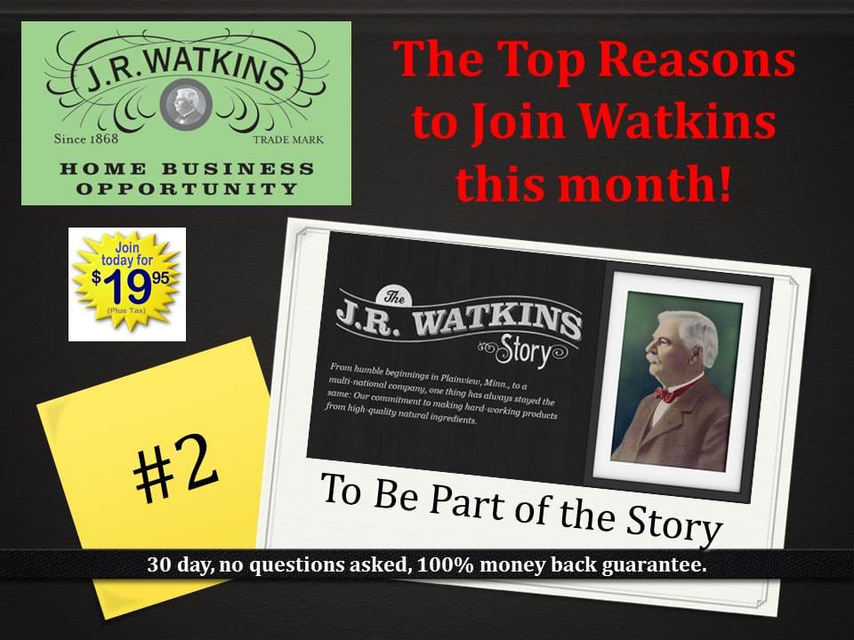 Become a Watkins Dealer