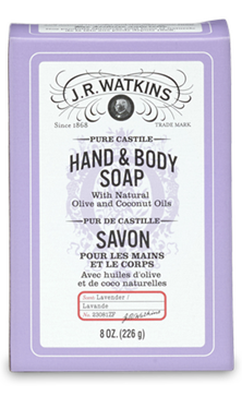 CASTILE HAND & BODY BAR SOAP - LAVENDER - Where to Buy