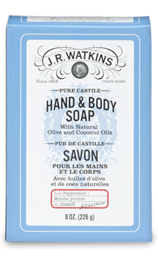 CASTILE HAND & BODY BAR SOAP - PEPPERMINT- Where to Buy