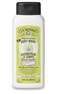 JR Watkins DAILY MOISTURIZING BODY WASH - ALOE & GREEN TEA - Where to Buy