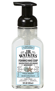 JR Watkins Foaming Hand Soap Ocean Breeze