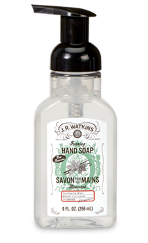 JR Watkins Foaming Hand Soap Pure Vanilla Mint