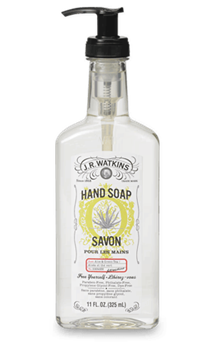 JR Watkins Liquid Hand Soap - Aloe and Green Tea