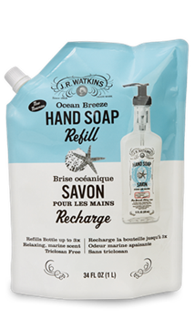 Liquid Hand Soap Refill Ocean Breeze