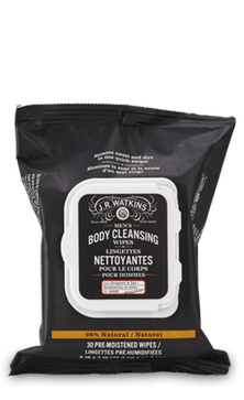 JR Watkins MEN'S BODY CLEANSING WIPES - Where to Buy