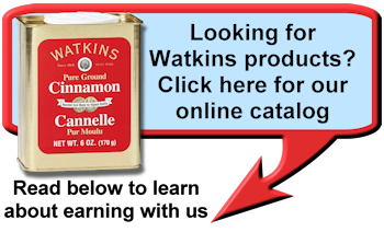 Where to buy Watkins Products in Prince Edward, Ontario