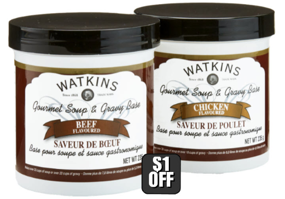 Watkins Soup and Gravy Bases Where to Buy